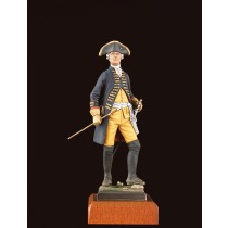 Frederick the Great's Army - Officer Figurine (Amati)