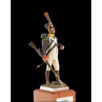 French Voltigeur Figurine  - Jeune Garde, 1811 (Amati)