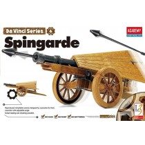 """DaVinci Spingarde Field Artillery Gun (Academy, Approx 12""""L)"""