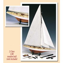 Rainbow, 1934 Defender, with Tools - Amati Model Boat Kits AM1700/11