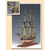 HMS Pegasus, Swan Class Sloop (Amati, 1:64)