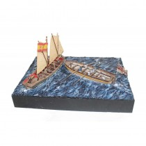 Battle of Trafalgar Diorama (Disar 1:56)