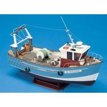 Boulogne Etaples Stern Trawler (Billing Boats, 1:20)