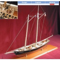 "America, 1851 Yacht (Bluejacket, Scale: 1/4"" = 1')"