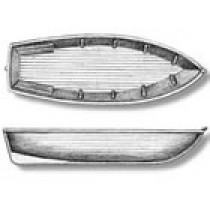 Metal Lifeboat Shell (65mm, AM4304)