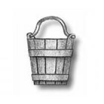 Sand Buckets, Cast Metal (10mm, AM4144/10)