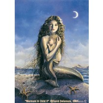 Mermaid & Child II by David Delamare