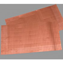 Set of 1:64 Copper Hull Plates (19x6mm, AM4392/05)