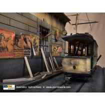 Berlin Tram Diorama (OcCre 1:24)