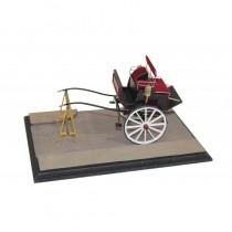 Dog Cart Country Car and Hunting Diorama (Disar 1:16)