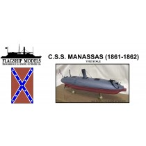 "CSS Manassas ""Turtleback"" Ram (1:192, Flagship Models)"