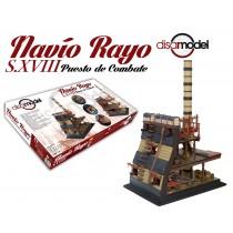 Navio Rayo S.XVIII Puesto De Combate (Disar 1:32)