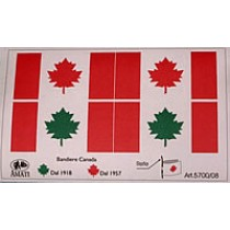 Canadian Flag set (AM5700/08)