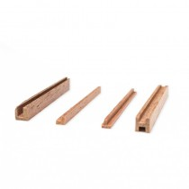"Walnut ""L"" Section  2x2mm (AM2580/05"