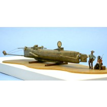 Hunley Submarine Resin Kit