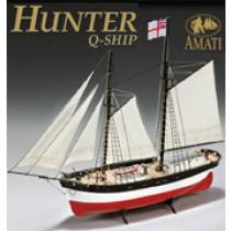 Hunter Q-Ship (Amati 1:60)