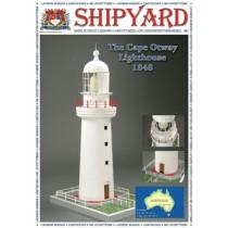 Cape Otway Lighthouse, 1848 Laser Cardstock Kit (1:72, Shipyard)