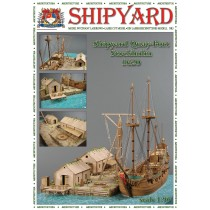 Quay Port, Stockholm, 1620 Laser Cardstock Kit (1:96, Shipyard)