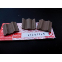 Large Dark Wavy Roof Tiles (Domus)