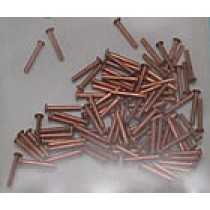 Copper Rivets, 0.95 x 7mm (100/pk. AM2850)