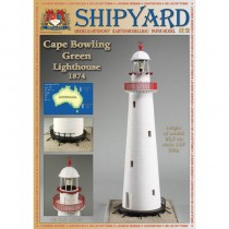Cape Bowling Green Lighthouse Paper Kit (Shipyard 1:87 HO)