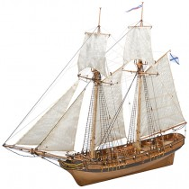 Sails for Schooner Polotsk (Master Korabel)