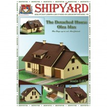 Cottage House Olza Max Paper Kit (Shipyard 1;87 HO)