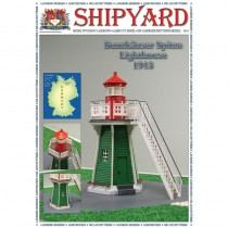 Bunthäuser Spitze Lighthouse Paper Kit (Shipyard 1:72)