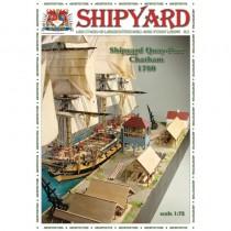 QuayPort - Chatham 1780 Laser Cardstock Kit (Shipyard 1:96