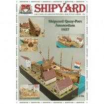 QuayPort - Amsterdam 1627 Laser Cardstock Kit (Shipyard 1:96)