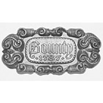 Bounty Ship Nameplate (AM5621/01E)