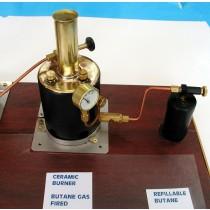Re-fillable Butane Gas Take w/ Adjustable Burner (Deans Marine)