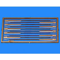 Photo-etched 65mm Boat Oar Set (10/pk, AM4405/01)