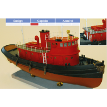 "Diesel Tugboat (BlueJacket, Scale: 3/16""=1')"