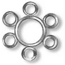 6 Hole Spider Band (6mm, AM4107)