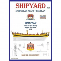 HMS Wolf Modellar Plans