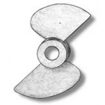 2 Bladed Bronze Propeller (50mm, AM4827/50)