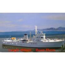 HMS Bronnington, RC Ready (Dean's Marine, 1:96)