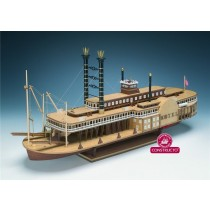 Robert E. Lee River Boat (Constructo 1:140)