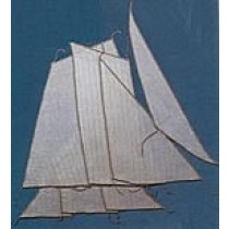 Bomb Ketch Sails Set (AM5618/10)
