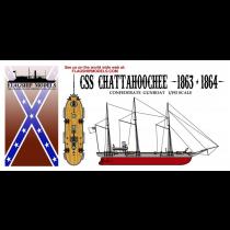 CSS Chattahoochee (Flagship 1:192)
