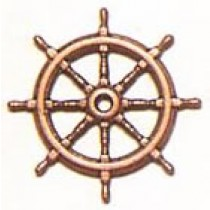 Ships Wheel Bronzed (20mm, AM4350/20)