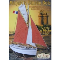 Le Rigel, St Malo Mackerel Boat (1:20, Soclaine)