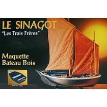 Les Trois Freres, Morbihan Fishing Boat (1:20, Soclaine)