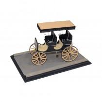 Top Canopy Surrey American Carriage Diorama (Disar 1:16)