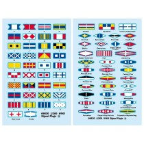 WWII Signal Flags (1/200, Trumpeter)