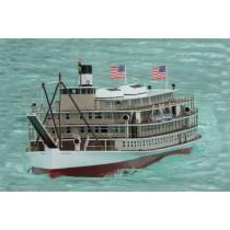Victoria paddle wheel riverboat (Saito)