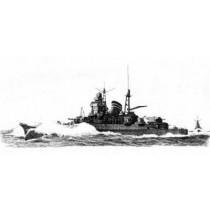 IJN Mogami Heavy Cruiser 1942 (Yankee Models)