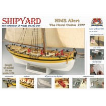 HMS Alert 1777 (Laser Cardboard 1:72, Shipyard)