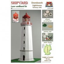 Dornbusch Lighthouse Laser Cardboard Kit (Shipyard 1:72)
